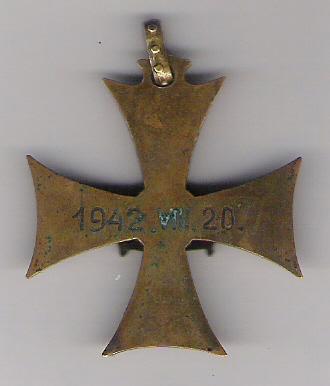 Hungarian 1942 medal