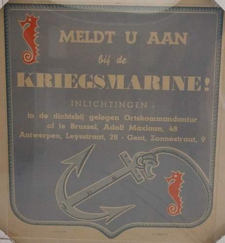 Flemisch (recruitment) posters.