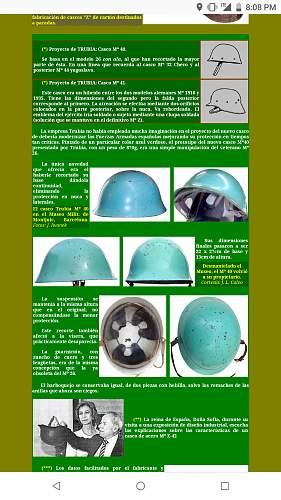 Strange Spanish Helmet