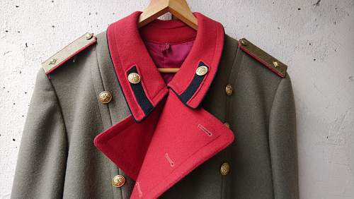 WW2 Royal Bulgarian general's overcoat