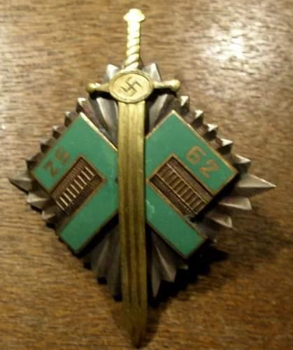 Latvian Badge?