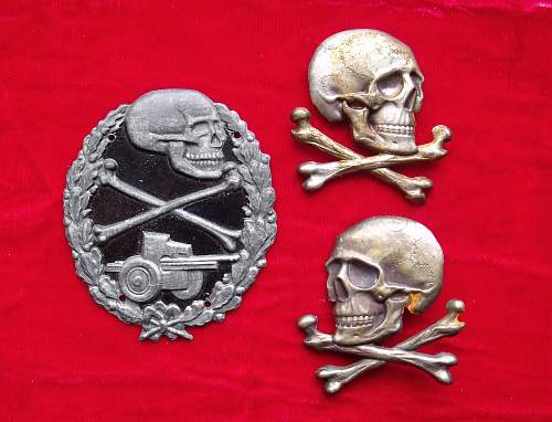 Spanish Blue Div. Anti-Tank badge