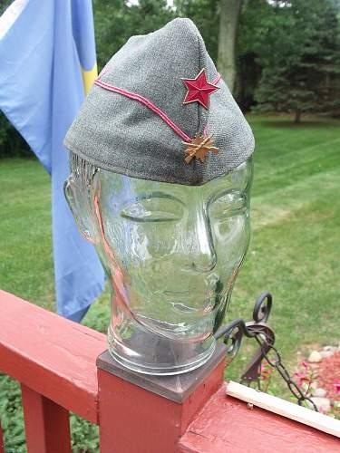 Spanish Civil War Republican Army Cap