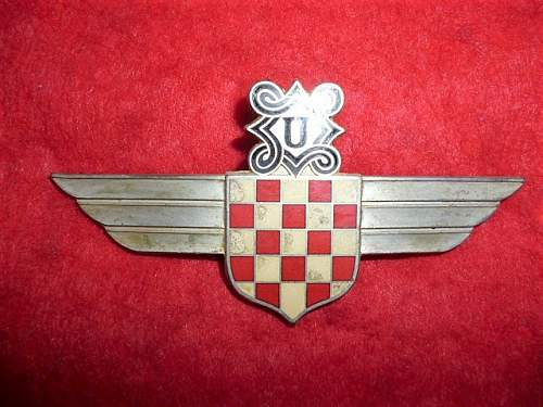 Croatian Legion Wings