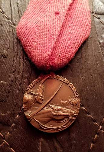 Medaglia Campagne d ,Africa Gruppo Squadroni Cavaleria Coloniale 1936-1937