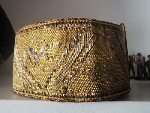 Spainsh brocade belts