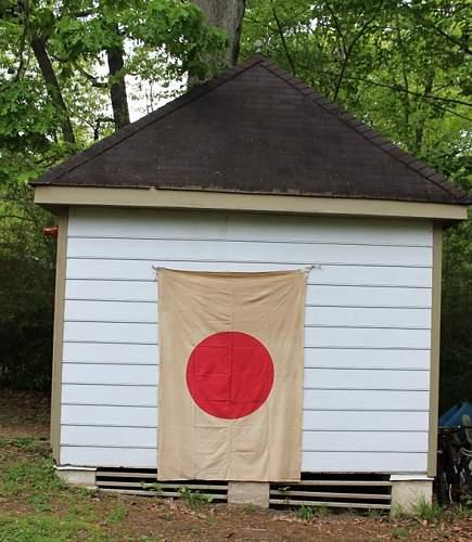 Fairly Large Japanese National Flag
