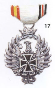 Medal for Blue Division - Russian Campaign