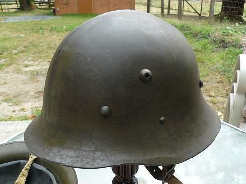 Bulgarian M-36 Combat Helmet