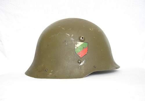 Helmet find - Bulgarian?