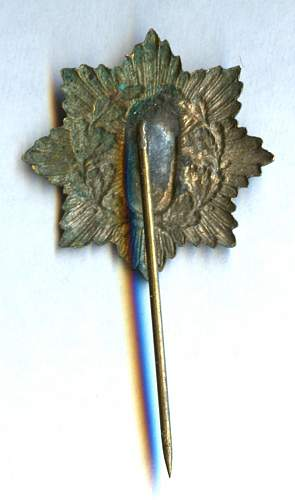Can someone help to identify this stickpin?