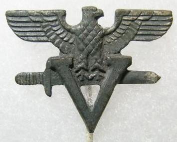 German - Hungarian Bund pin?
