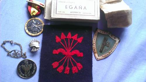 My Small Falange and Condor Legion Collection