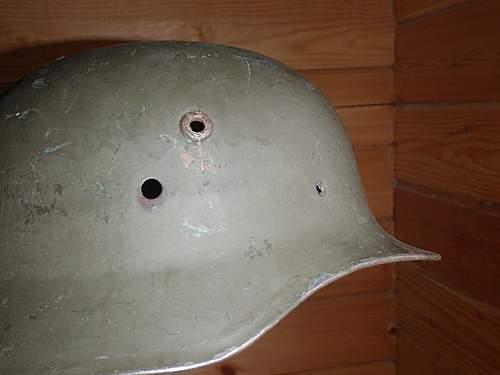 ww2 Hungarian helmets