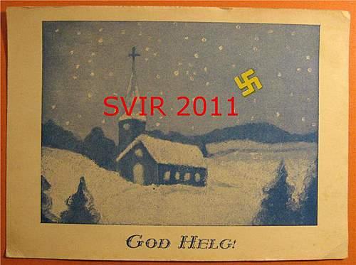 Rare Swedish NSAP items