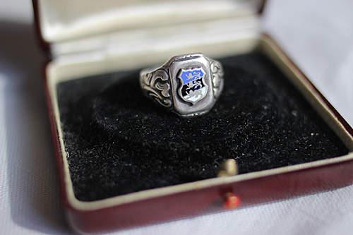 My nice estonian ww2 silver ring
