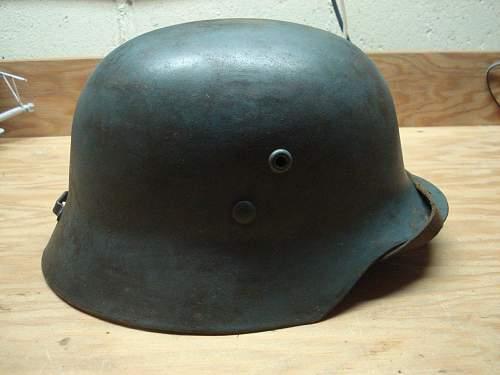 Hungarian M35 Civil Defence Steel Helmet