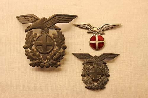 "Quisling ""norway"" cap badges"