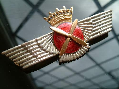 SPANISH FRANCO ???? Pilots badge ...exact period of manurfacture help required ...