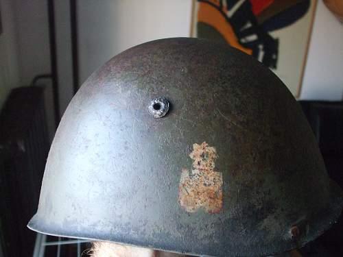Croatian ww2 m33 helmet