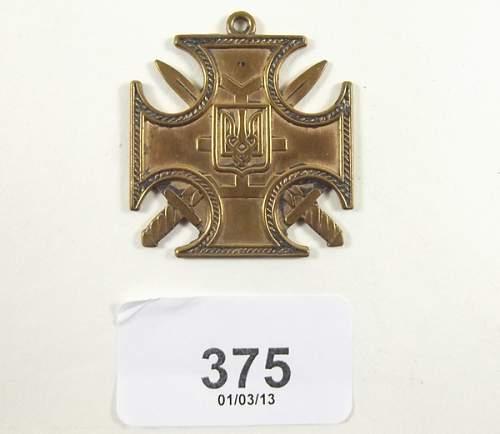 mystery medal ?