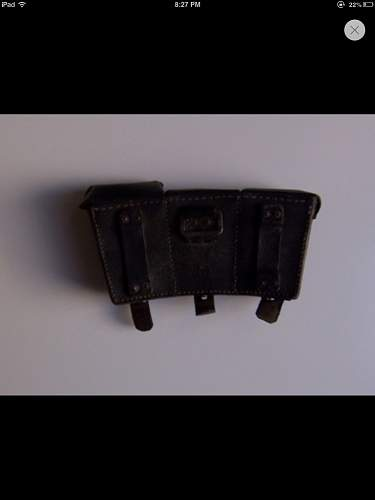 Ww2 german ammo pouch!