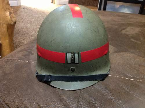 unusual m1 helmet liner-HELP