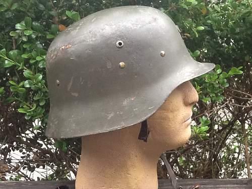 Spanish helmet, Franco ?