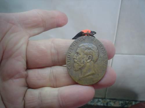 Romanian loyal service medal