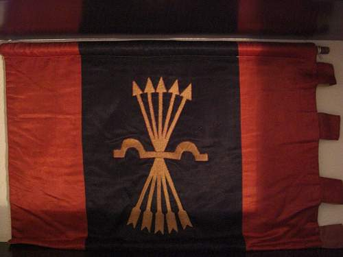 Spanish falangist banner