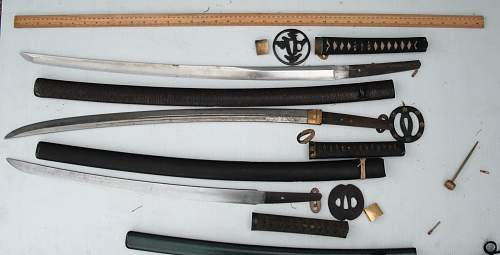Three Japanese Swords - Translation Help?