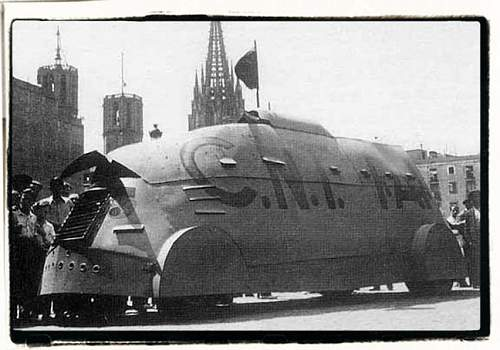 Tiznaos - improvised armoured cars Spanish civil war