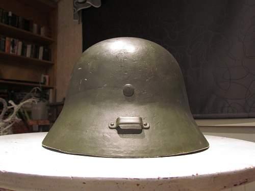 M38 Hungarian Stahlhelm (Finnish?)