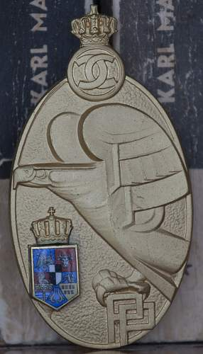 Romanian Kingdom Premilitary Training Badge