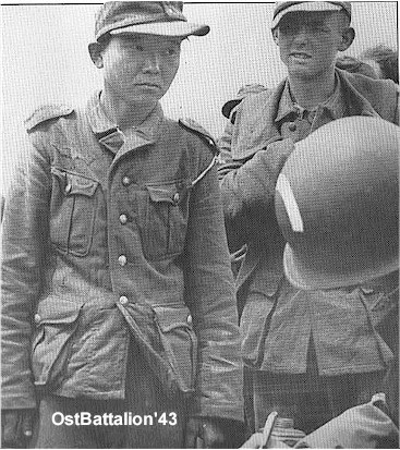 Is this man in the Japanese or Chinese army?