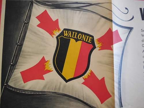 Legion wallonie propaganda poster