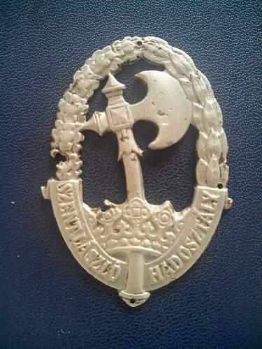 Hungarian paratrooper badge