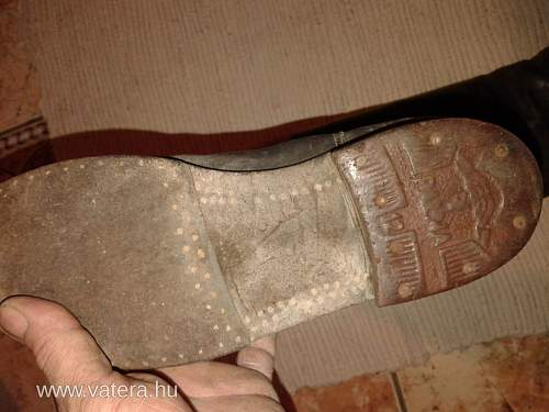 salty Hungarian WW2? boots...