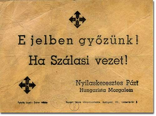 Hungarian arrow cross