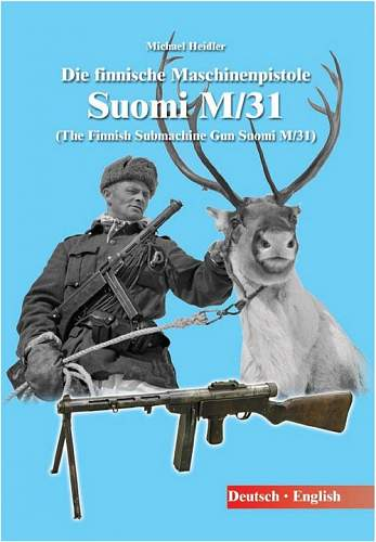 New book: The Finnish Submachine Gun Suomi M/31