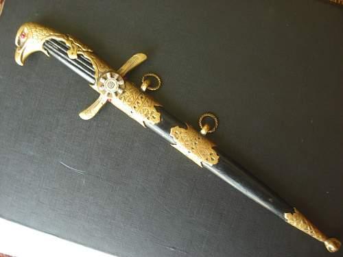 Bulgarian Luftwaffe Dagger