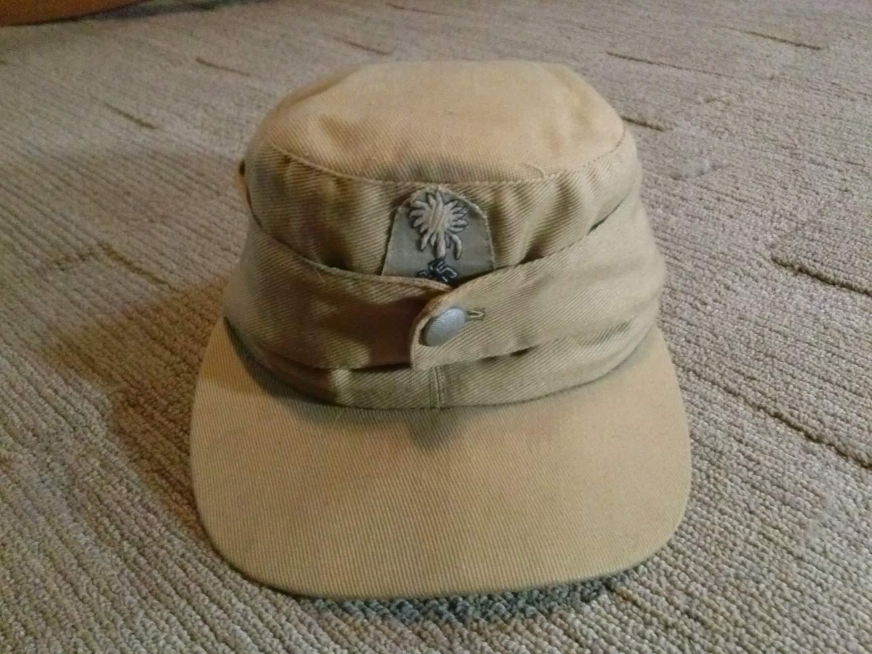 WW2 TROPICAL M43 CAP ITALIAN MADE