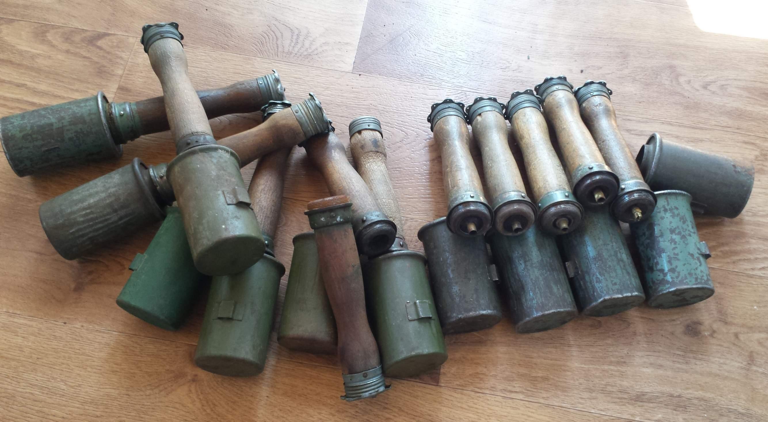 Ww2 grenades