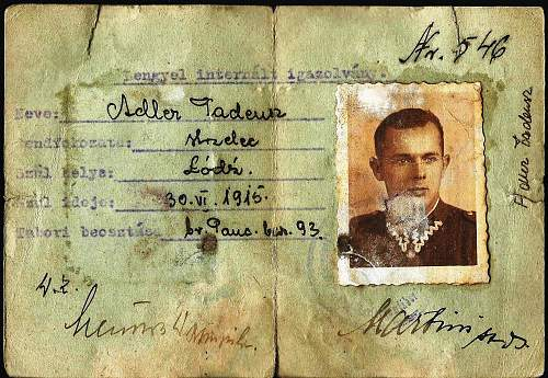 Hungarian internment camp 1940