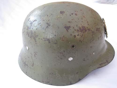 Spanish WWII Helmet?