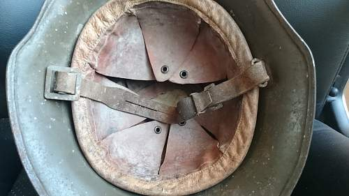 Bulgarian M36A helmet