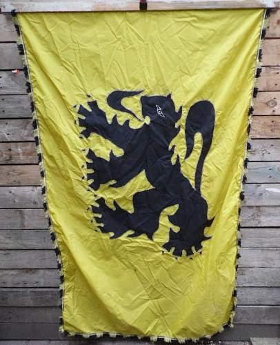 Flemish stage banner