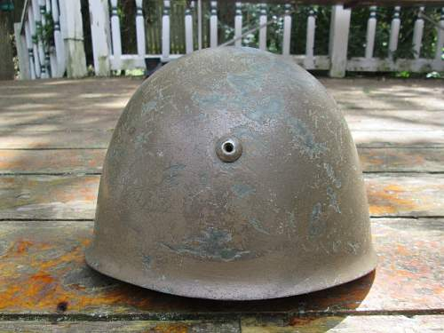 Thoughts on this M33 Italian Helmet