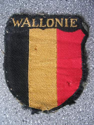 My walloon collection