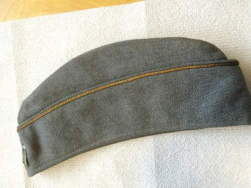 Help Identifying suspected Axis overseas hat